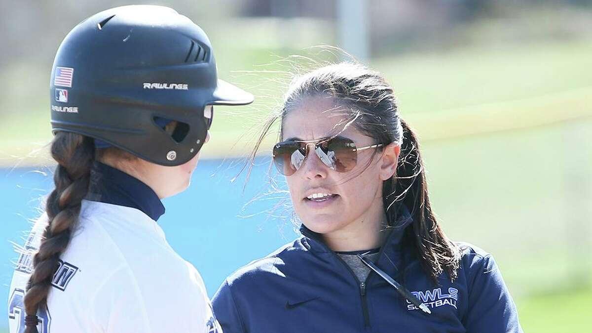 Southern Connecticut State softball coach Jill Rispoli.