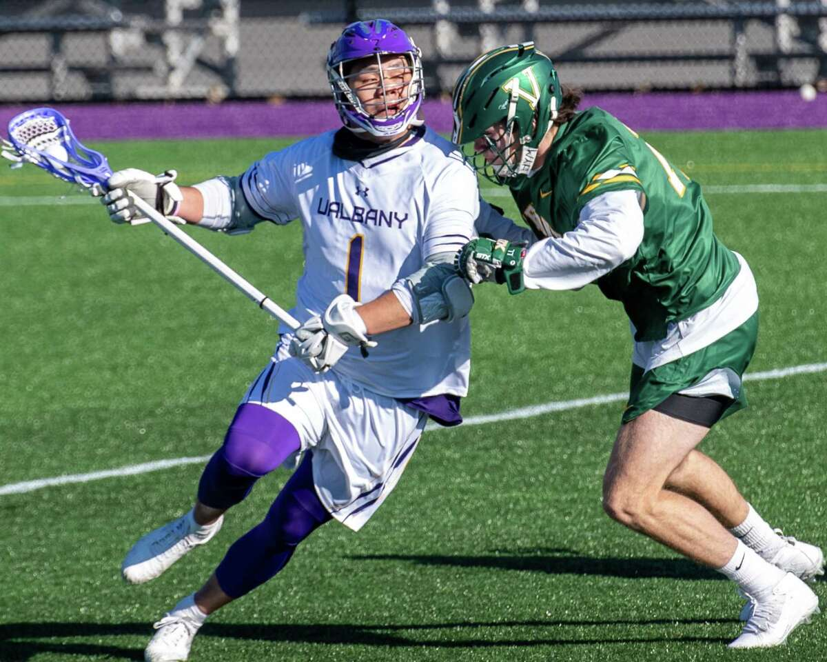 UAlbany's Tehoka Nanticoke had 109 goals and 61 assists for the Danes, and UAlbany coach Scott Marr said Nanticoke would be a good pickup for the Buffalo Bandits, who selected him in the National Lacrosse League draft.