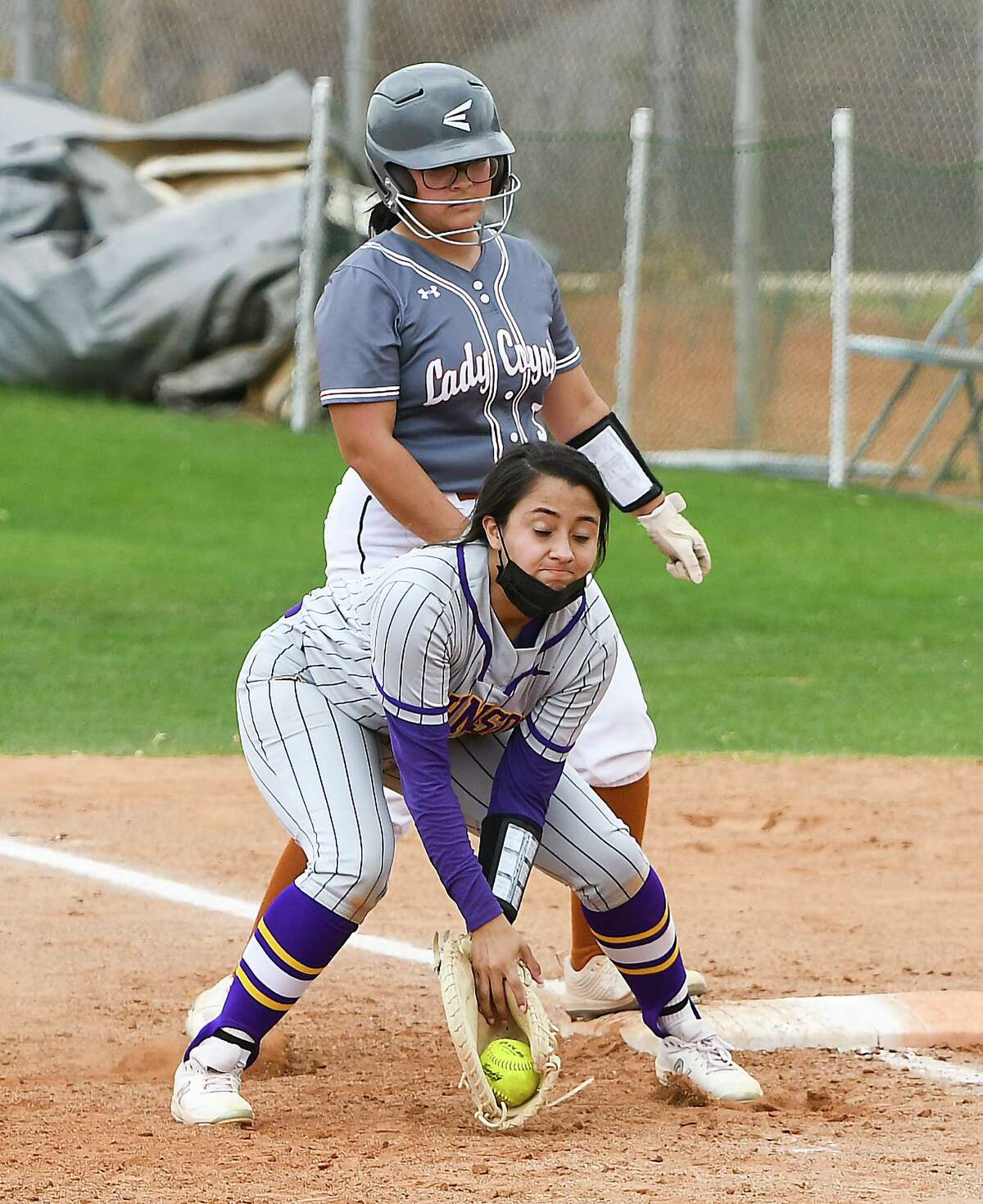 The Lady Wolves were out hit 7-6 in the loss Saturday.