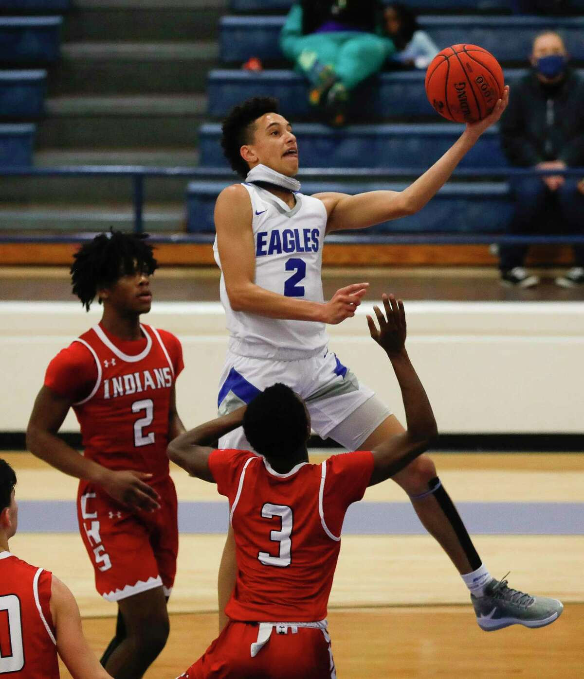 New Caney's Kendall Dove was named the District 20-5A Newcomer of the Year.