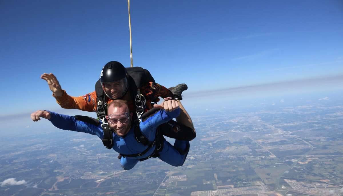 3. I've jumped out of a plane ... twice.