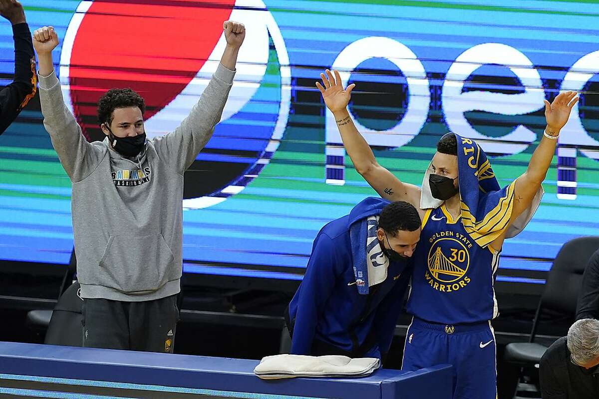 """Injured Golden State Warriors guard Klay Thompson said of not being able to play: """"I genuinely love the game so much that it's been kind of hard to find happiness without it."""""""