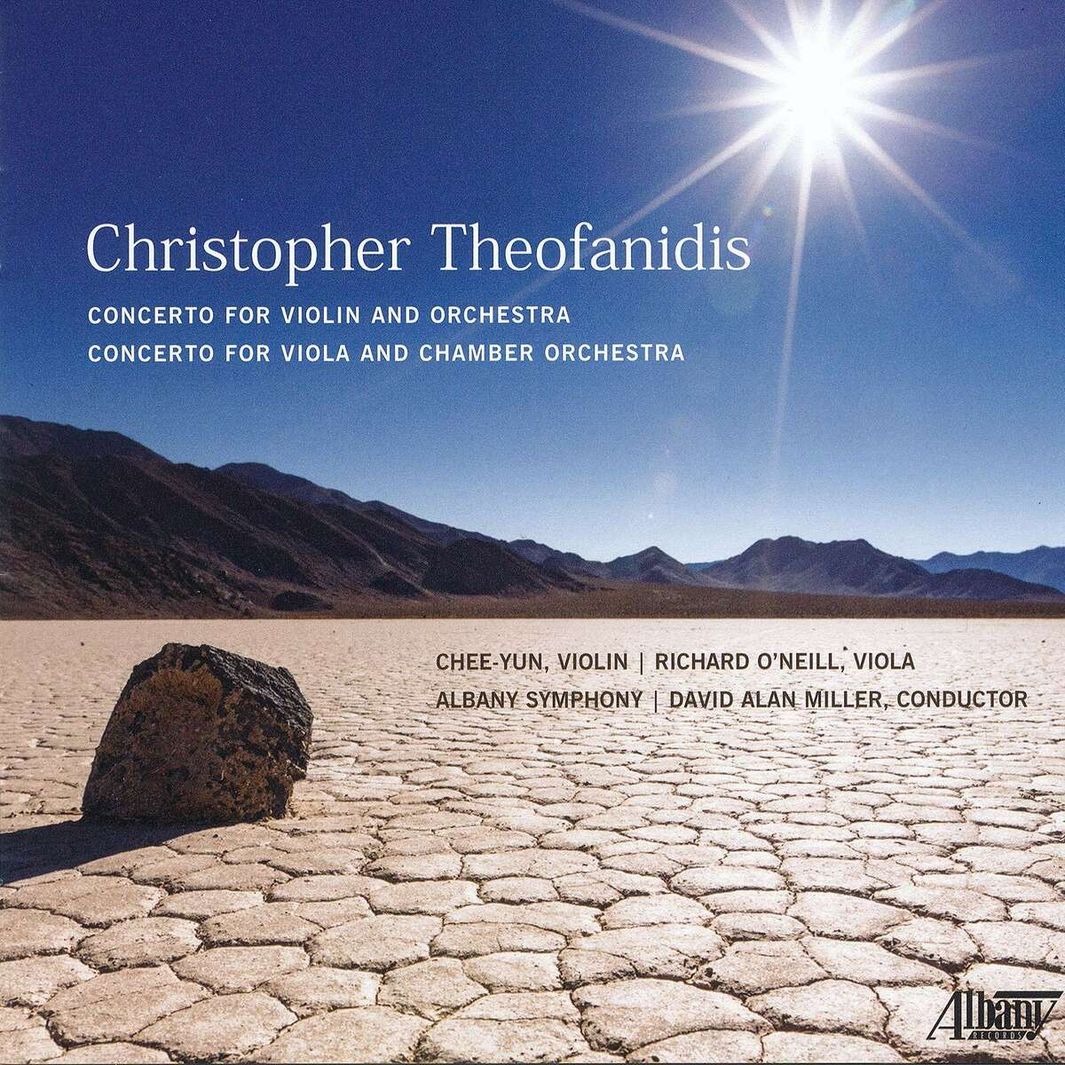 """""""Theofanidis: Concerto for Viola and Chamber Orchestra"""" on Albany Records"""