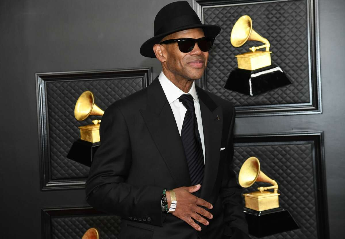 Jimmy Jam attends the 63rd Annual GRAMMY Awards at Los Angeles Convention Center on Mar. 14, 2021 in Los Angeles.