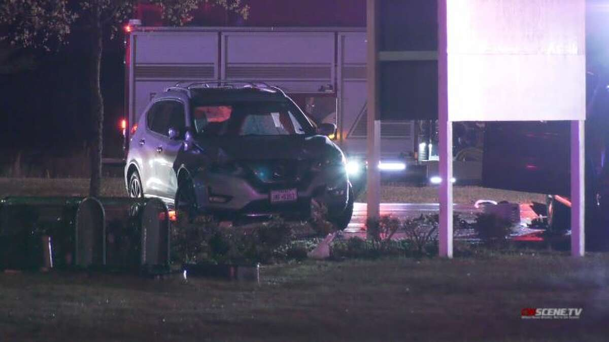 Multiple people were killed Sunday in a crash in northwest Harris County, according to authorities. The Harris County Pct. 4 Constable's Office said at least two people were taken to the hospital via Life Flight.