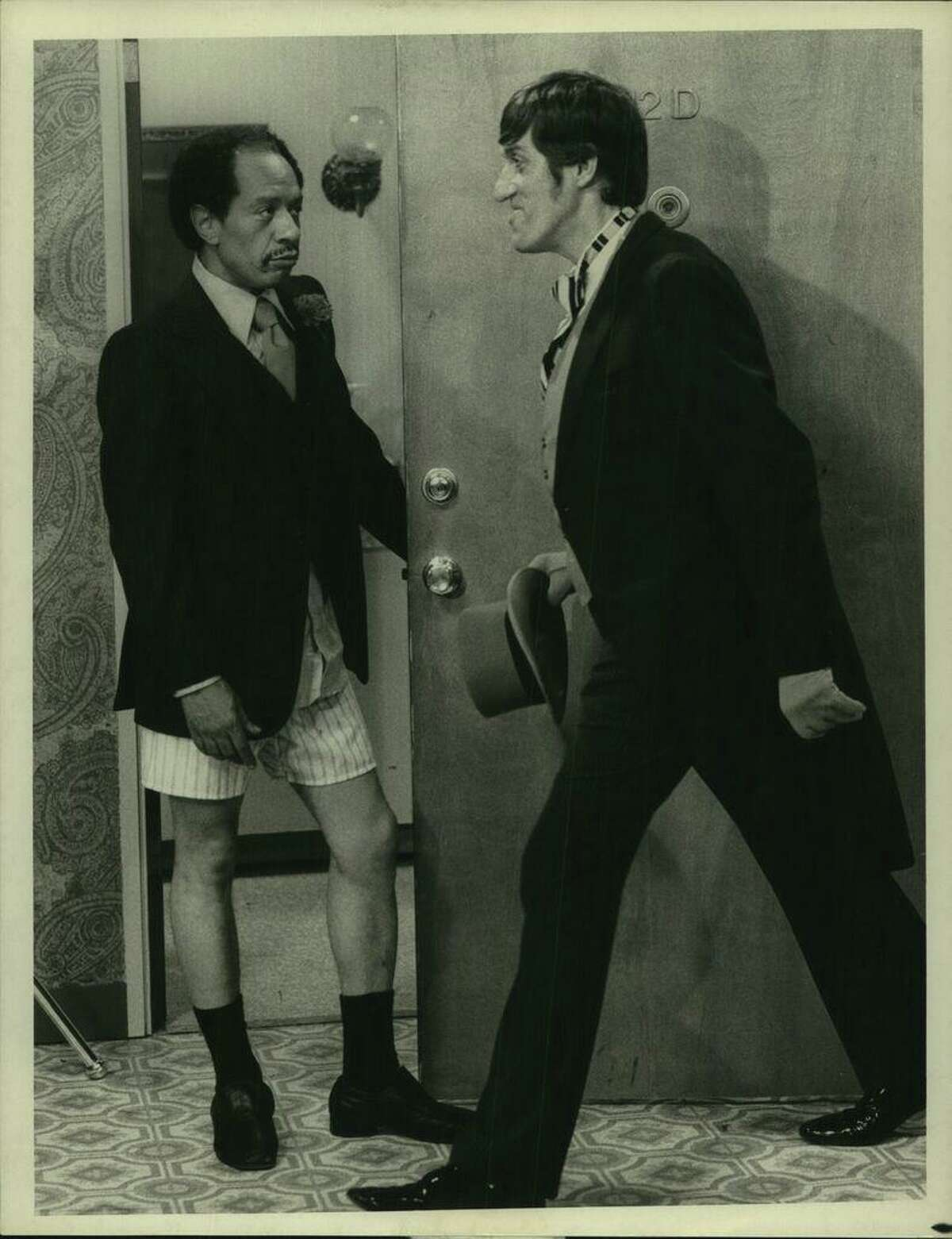 A scene from the 1970s situation-comedy