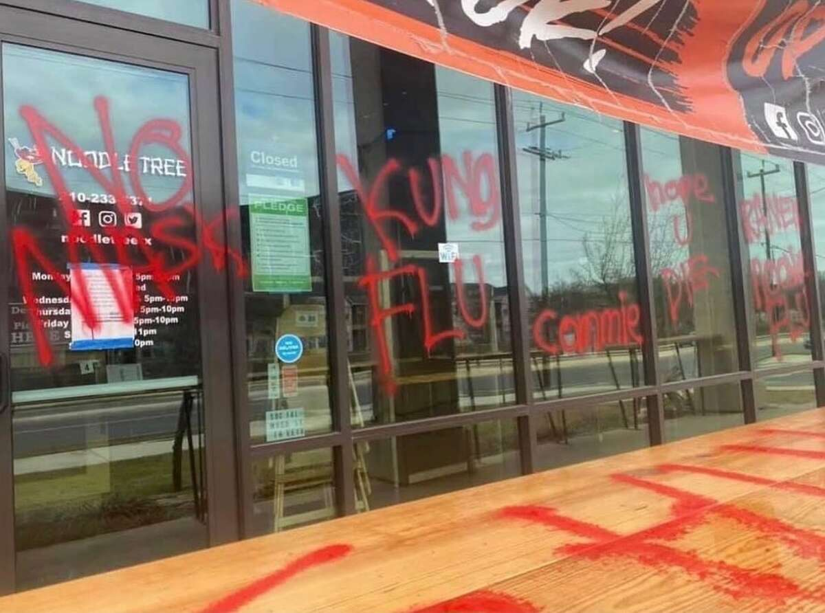 A San Antonio restaurant was vandalized after the owner publicly spoke out against lifting the mask mandate.