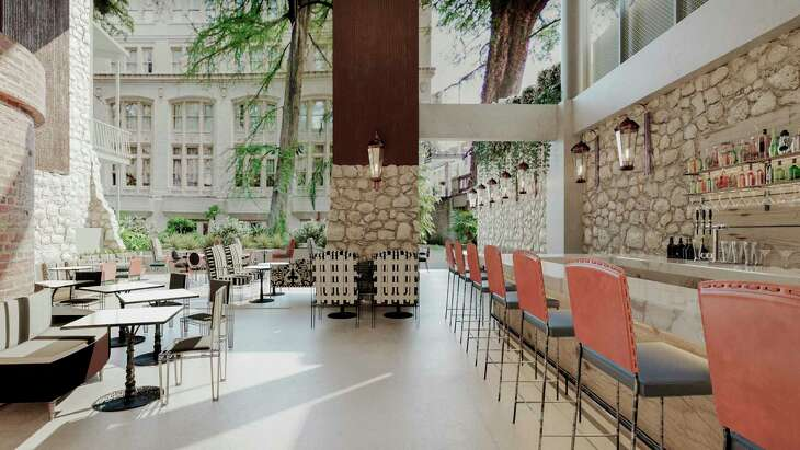 Domingo Restaurant inside the new Canopy by Hilton San Antonio Riverwalk hotel is set to open April 15 at East Commerce and North St. Mary's streets in downtown San Antonio.