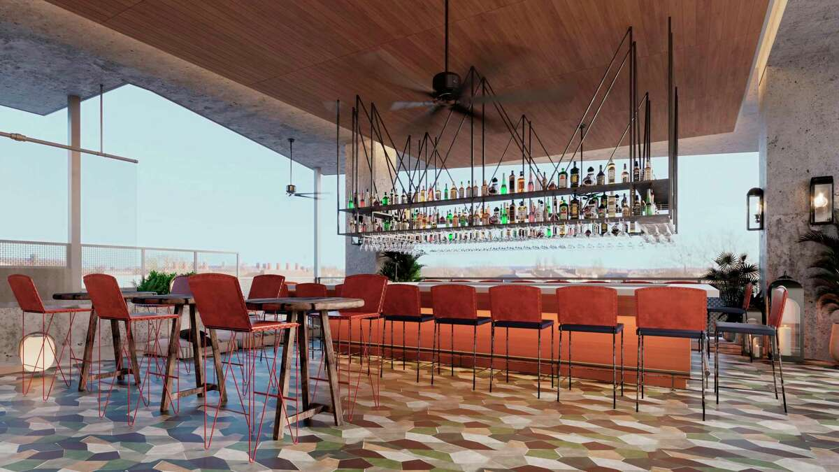 Otro Bar inside the new Canopy by Hilton San Antonio Riverwalk hotel is set to open April 15 at East Commerce and North St. Mary's streets in downtown San Antonio.