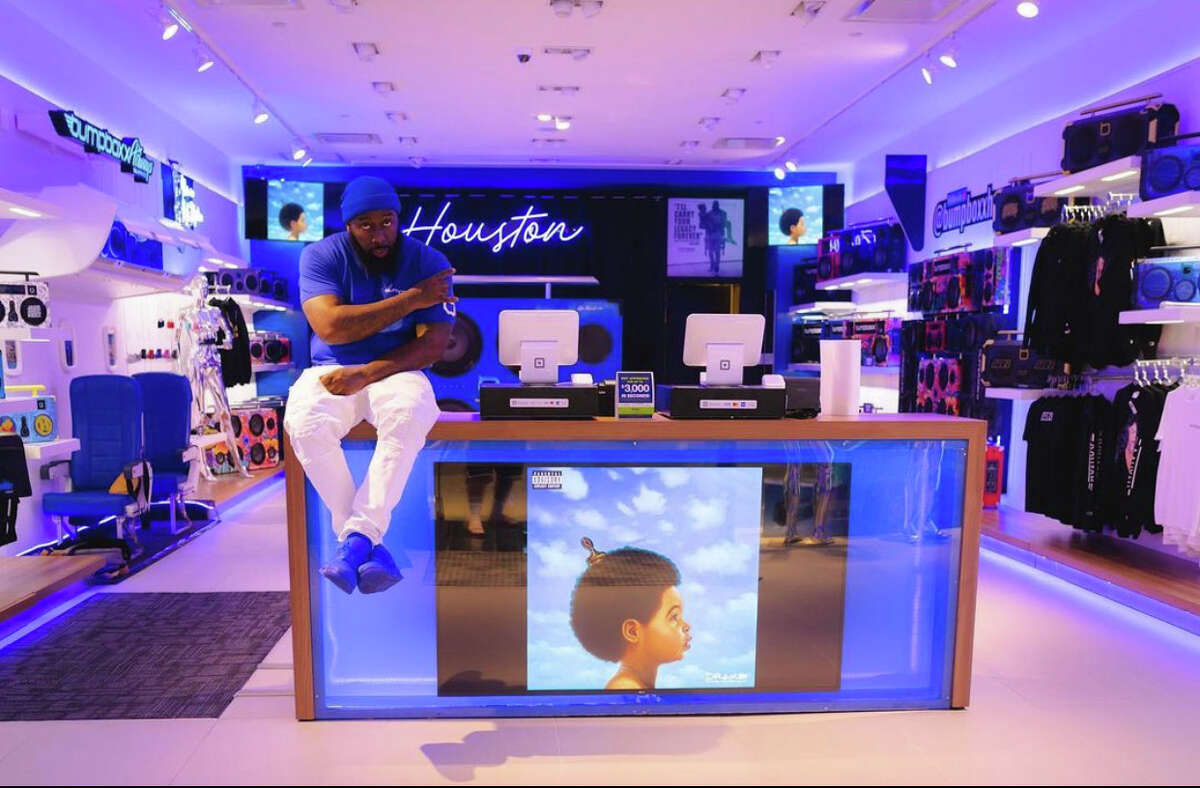 Trae the Truth opens Bumpboxx store in the Houston Galleria over the weekend.