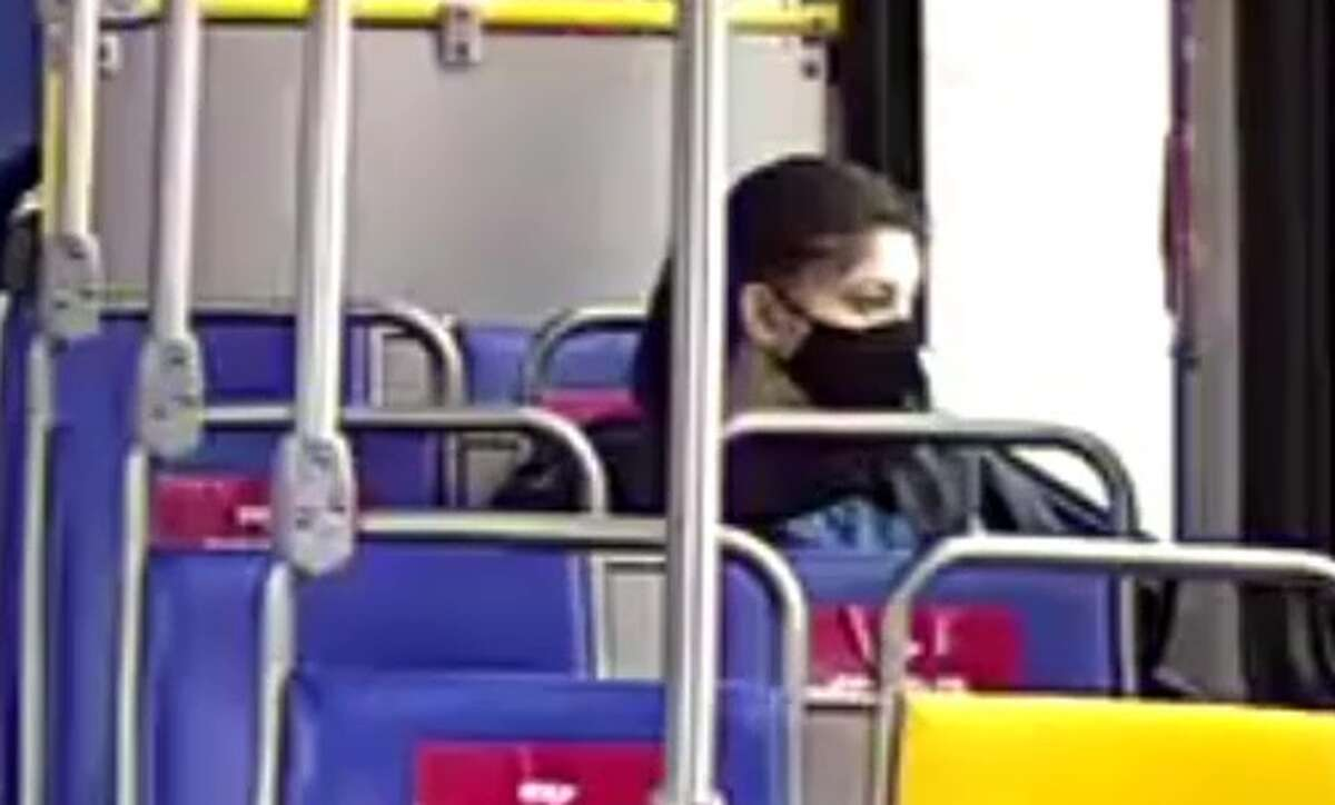 SAPD released a photo showing D'Lanny Chairez riding a Via Bus on February 24th, 2021. Chairez rode the bus for several hours on February 24th, before exiting at the North Star Transit station.