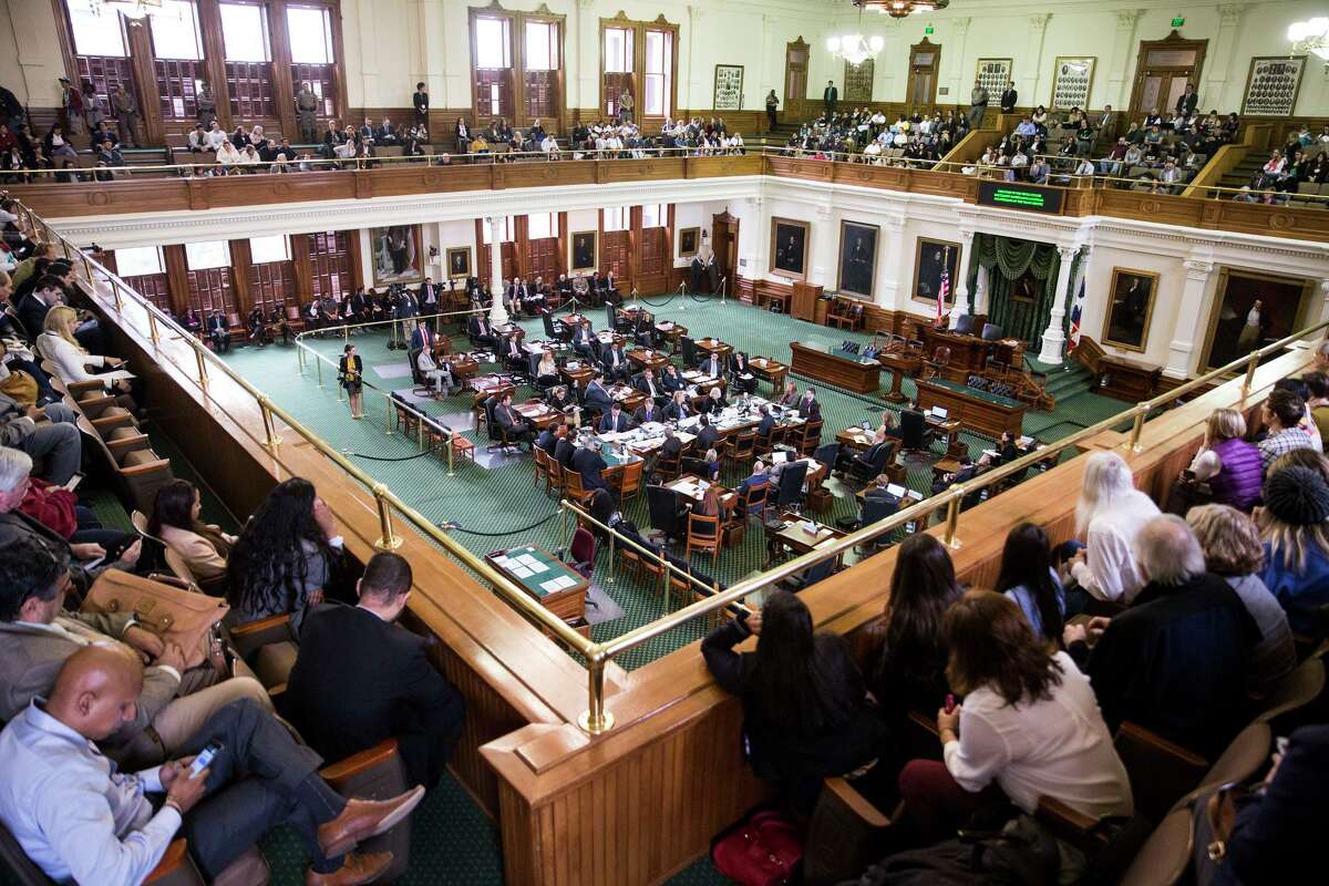 The Texas Senate, pictured Feb. 2, 2017, will take up a proposal this session to ban cities and counties from using public funds to hire outside lobbyists. Lawmakers who support the ban also have delayed a scheduled review of the state's lobbying office in Washington, D.C.