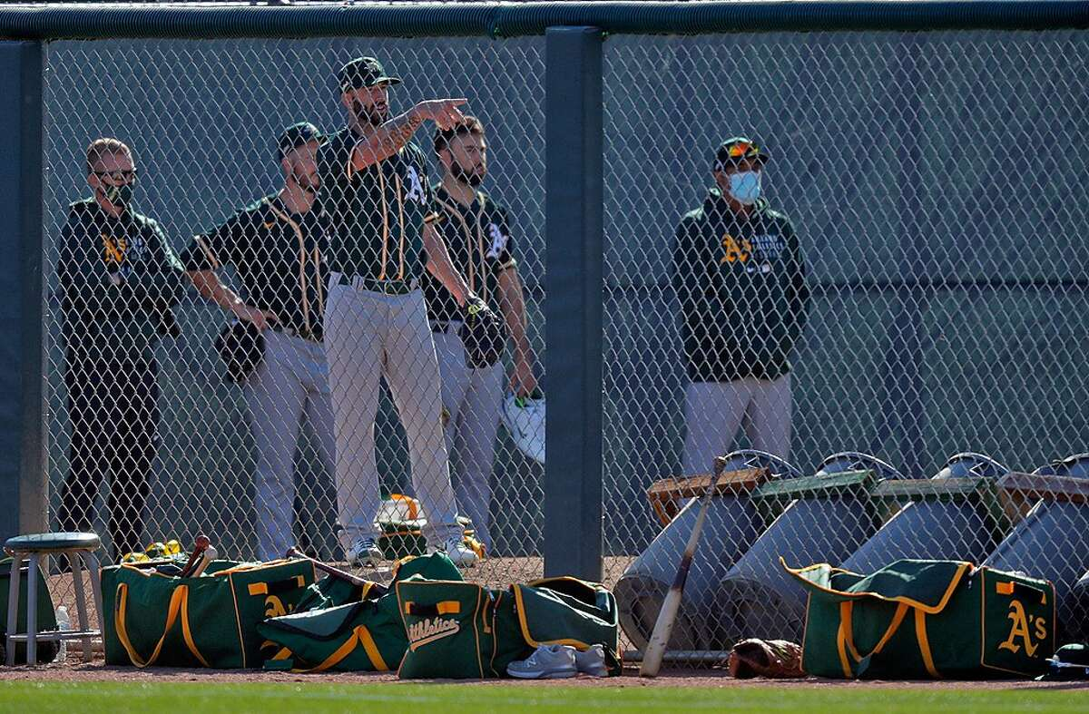 A's pitcher Mike Fiers is scheduled to receive a cortisone injection Monday afternoon and be re-evaluated after a couple days.