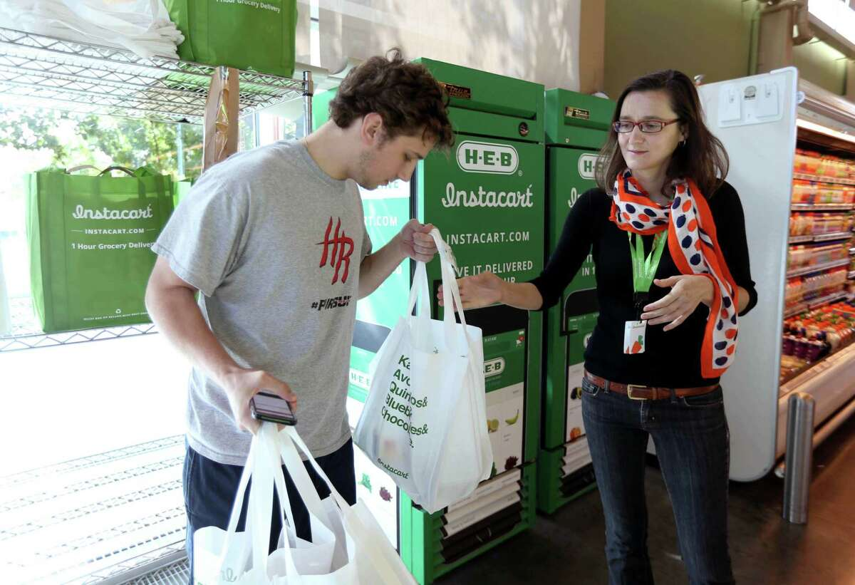 Throughout the pandemic, many shoppers have relied on services such as Instacart to deliver groceries. A couple thank these essential workers enough for their effort to keep COVID-19 from spreading.