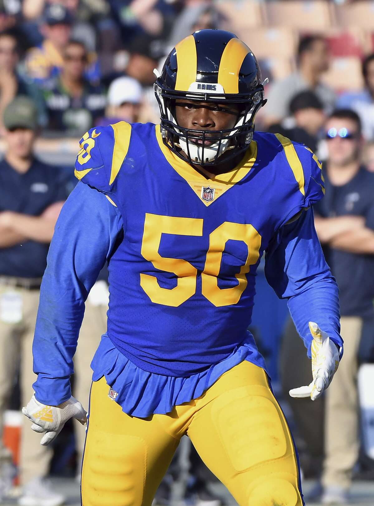 Samson Ebukam, who didn't miss a game in his first four NFL seasons with the Rams, has agreed to a two-year deal with the 49ers.
