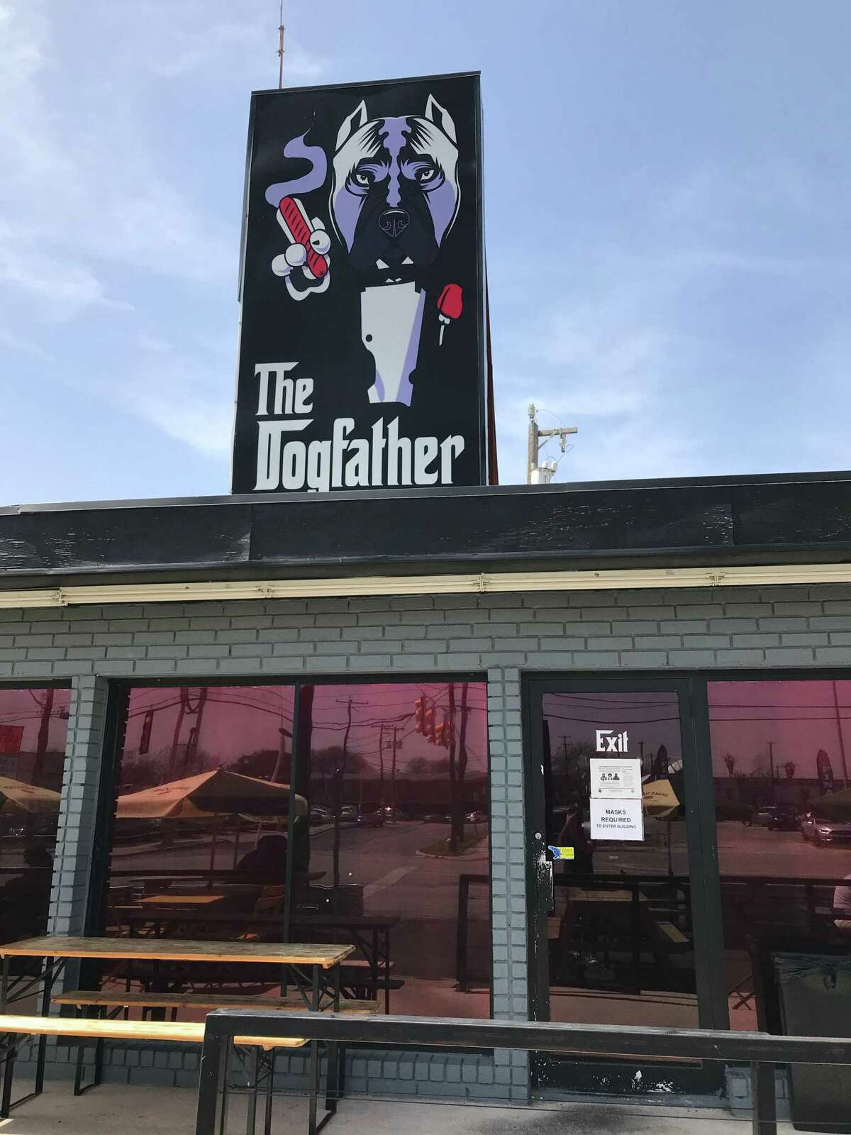 Hot dogs get a pure San Antonio treatment at The Dogfather, located at 6211 San Pedro Ave.