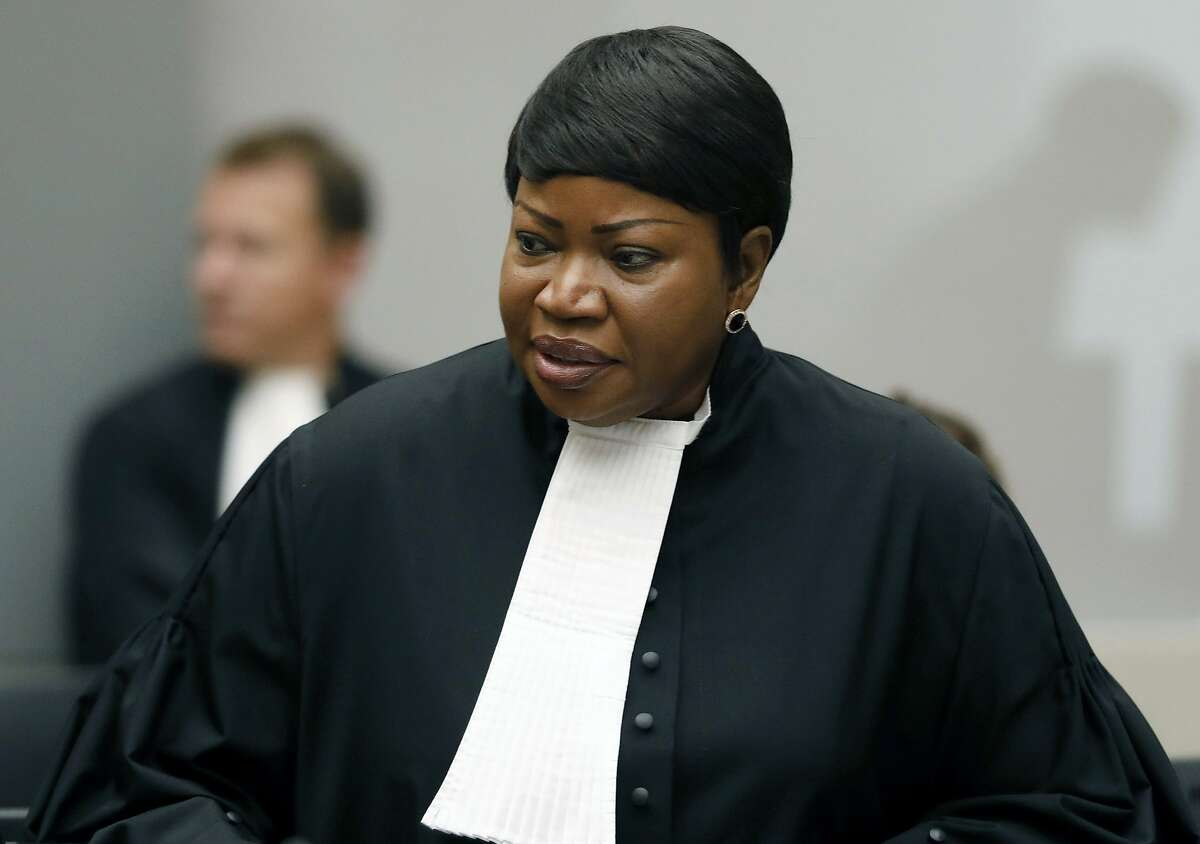 Fatou Bensouda is the International Criminal Court's chief prosecutor and under sanctions imposed by the Trump administration.