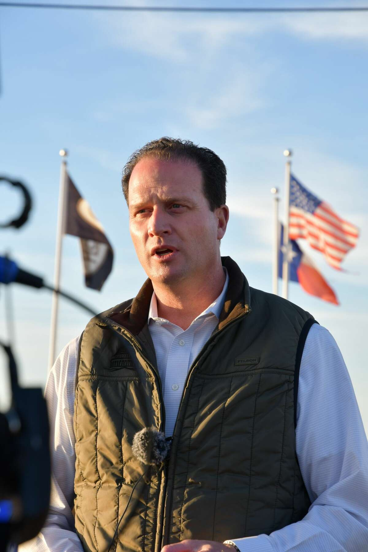 U.S. Rep. August Pfluger (TX-11) will hold a town hall at 5:30 p.m. Monday at the Bush Convention Center, 105 N Main St.