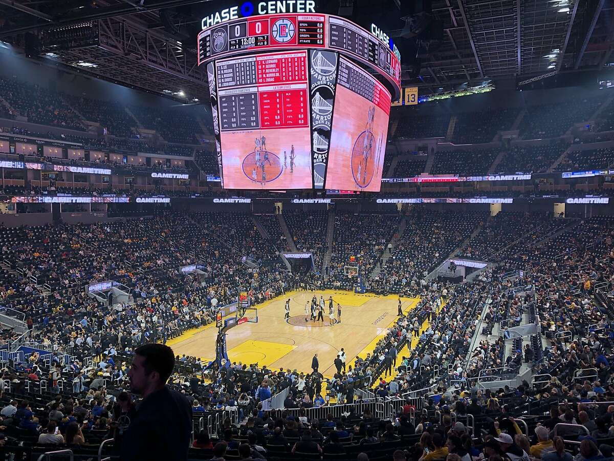 The Clippers play the Golden State Warriors at Chase Center on in San Francisco.