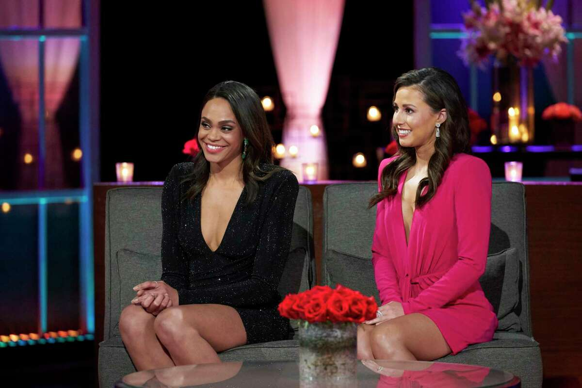 """(L-r) Michelle Young and Katie Thurston, the upcoming stars of respective """"Bachelorette"""" seasons."""