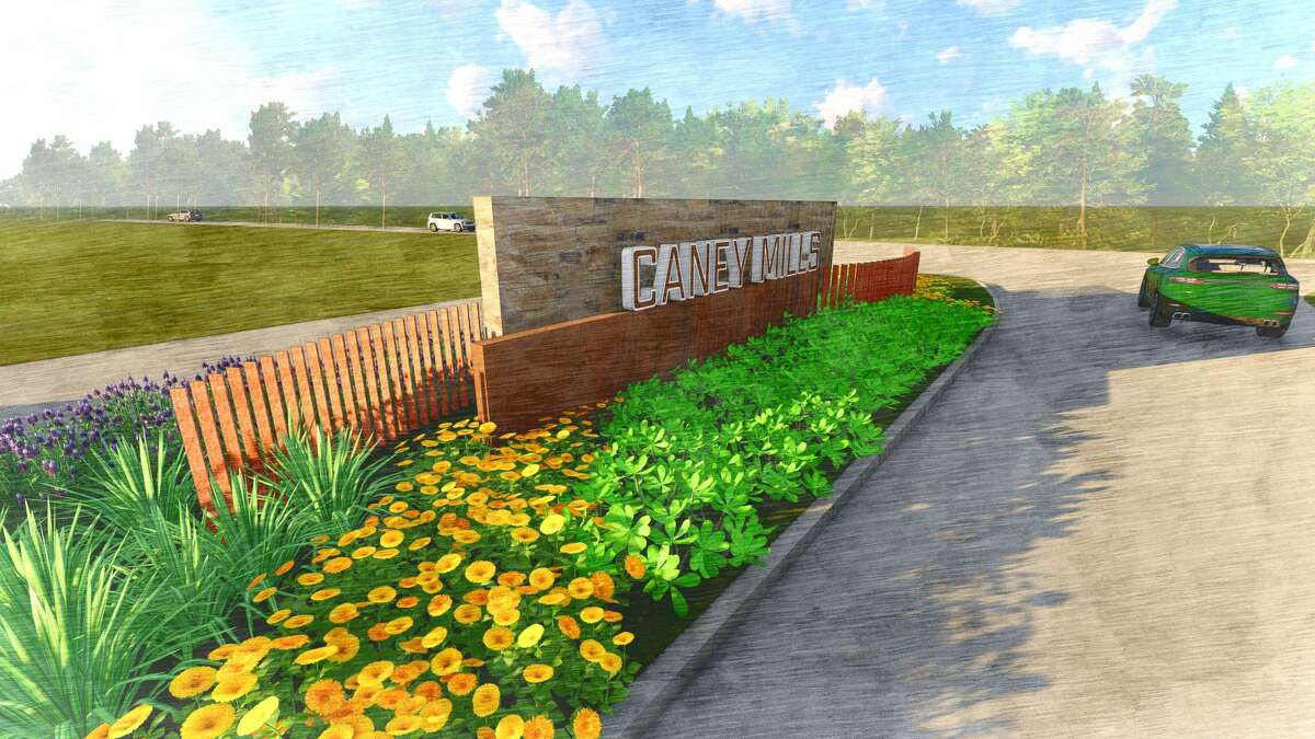 Caney Mills, a development of The Signorelli Co., is planned for more than 1,000 homes in the Conroe area.
