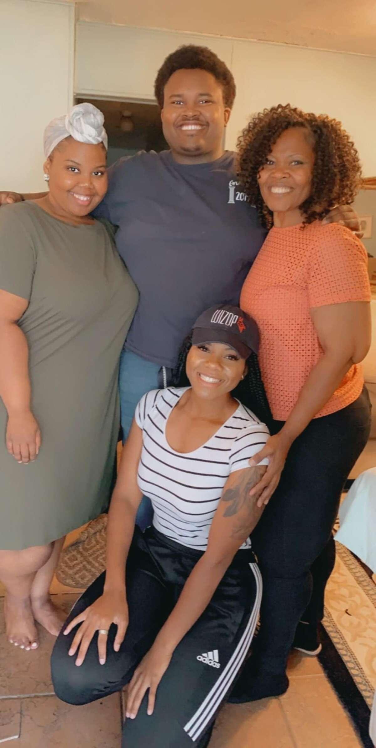 Honoria Bush with family.