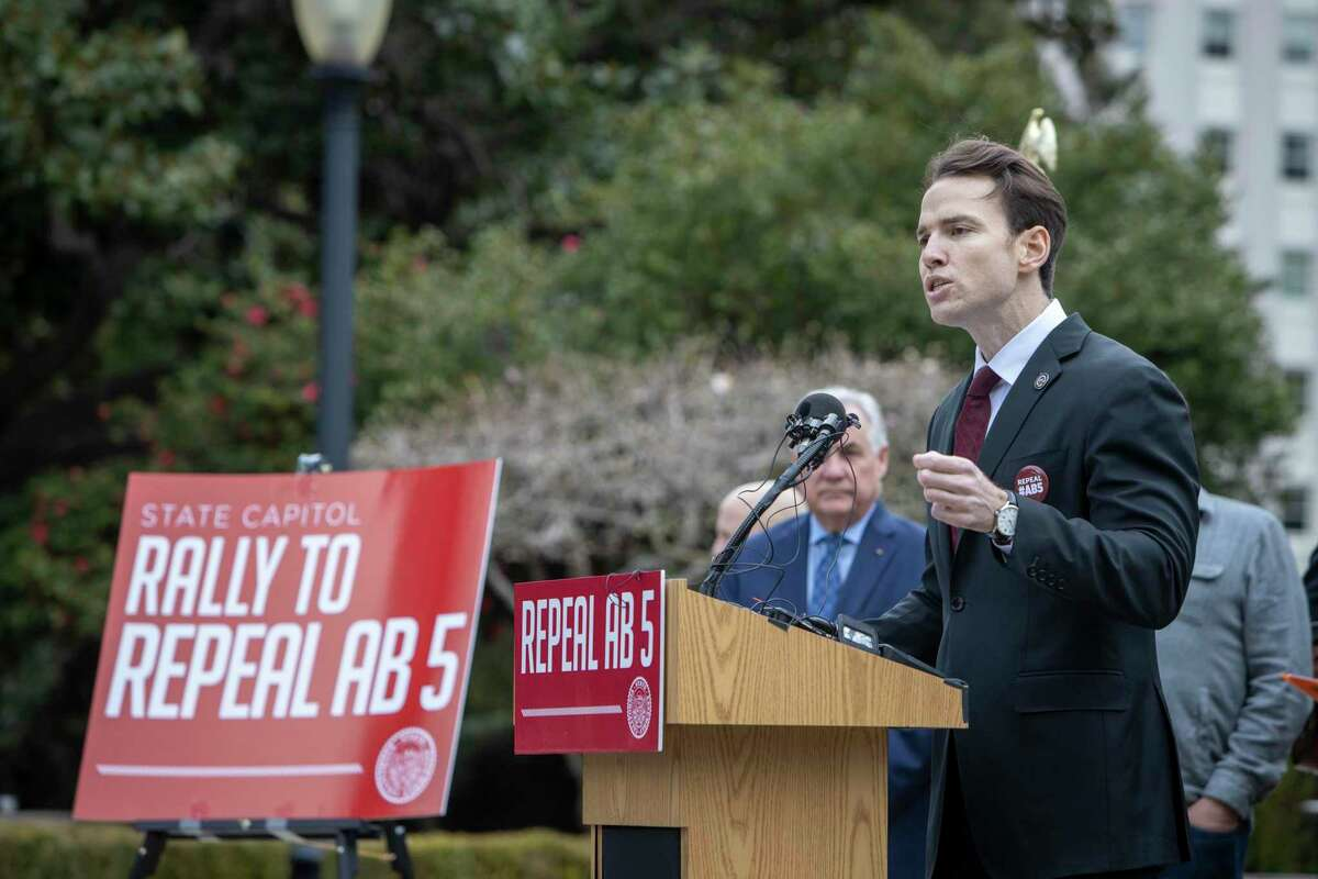 Republican Assembly Member Kevin Kiley has contributed nearly $11,000 to the effort to recall the governor.