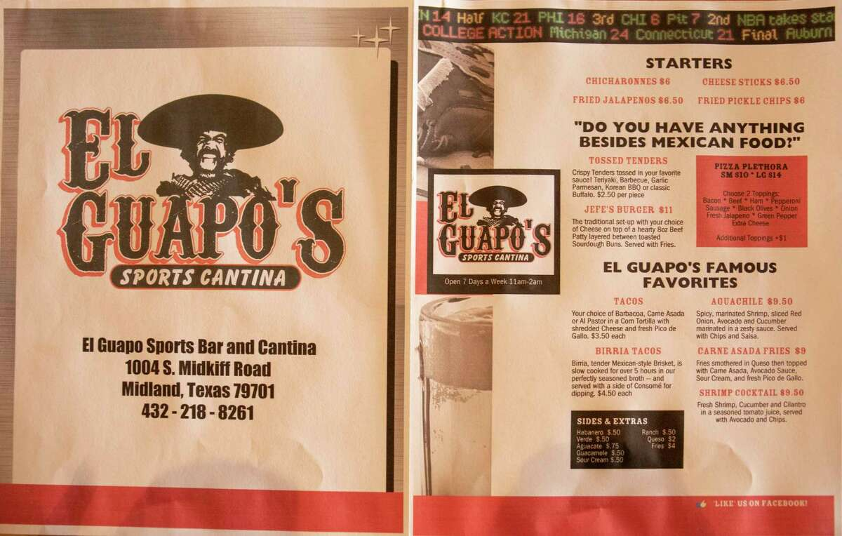 El Guapo's Sports Cantina as seen Friday, March 12, 2021 at 1004 S. Midkiff Road. Jacy Lewis/ Reporter-Telegram