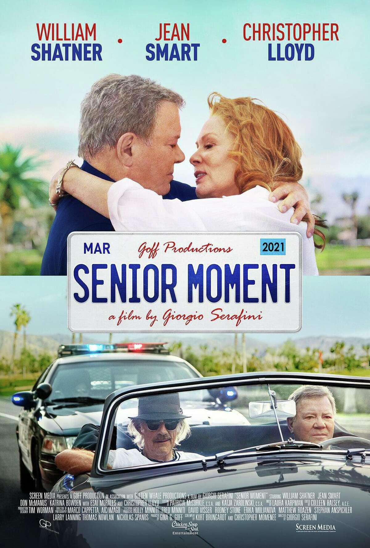 """Senior Moment"" stars William Shatner and Jean Smart"