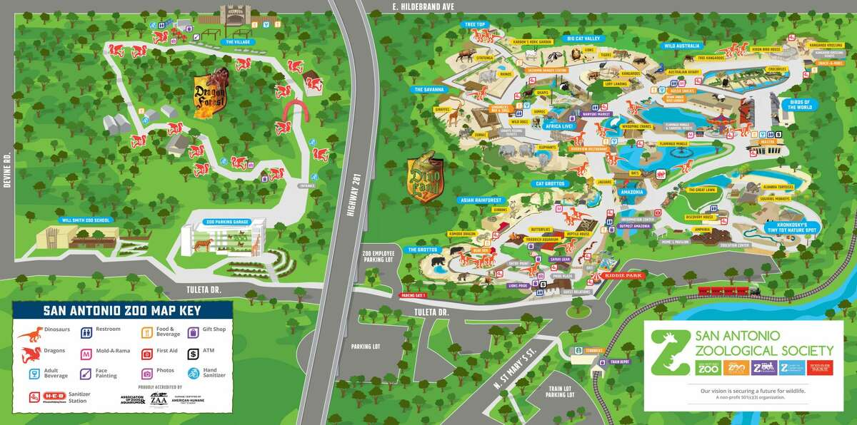 The San Antonio Zoo will host its first ever experience on the property west of 281.