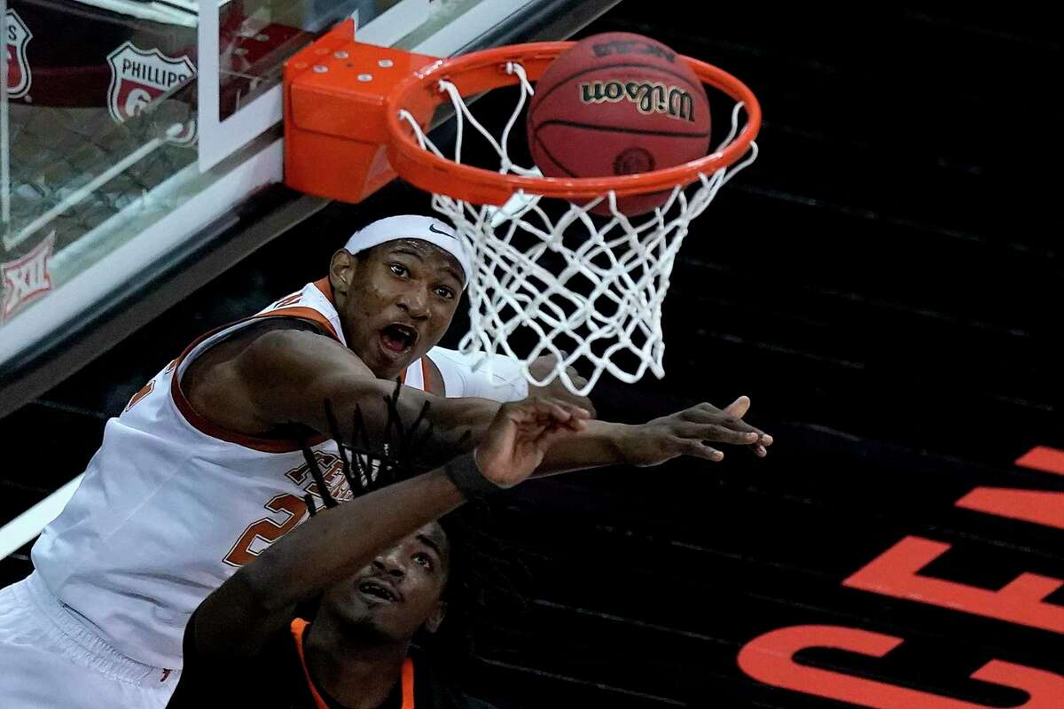 Kai Jones gave Texas a lift in Big 12 title game win over Oklahoma State.
