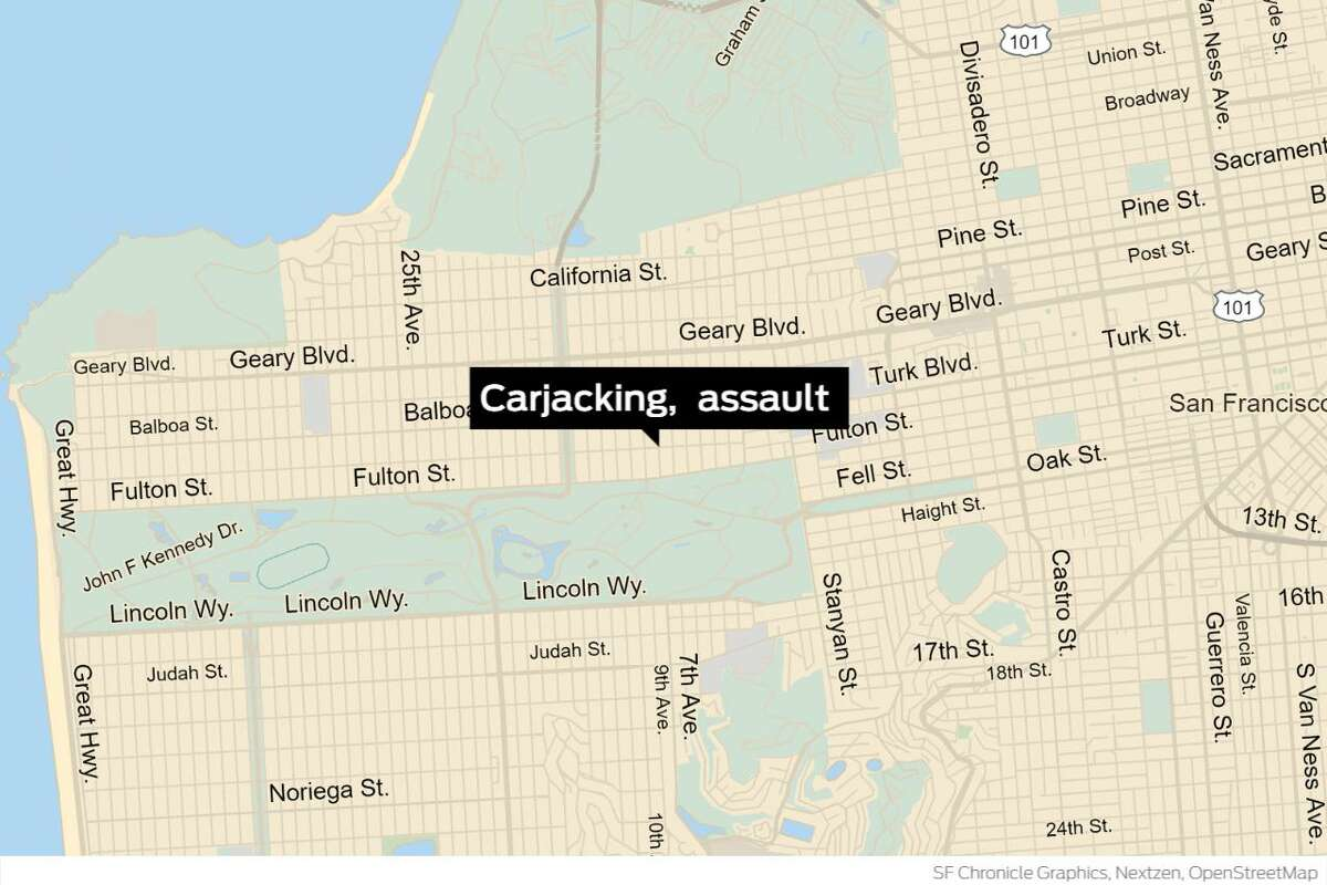 A San Leandro teenager is facing felony charges in connection with her alleged role in the assault and attempted carjacking at an Inner Richmond grocery store that injured an elderly woman, police confirmed Tuesday.