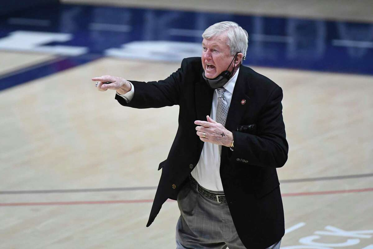 Texas A&M coach Gary Blair, against Mississippi earlier this season, has his own style of wit and wisdom.