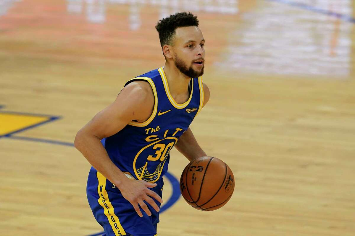 Stephen Curry and the Warriors make the first of two visits to Toyota Center this season Wednesday night.