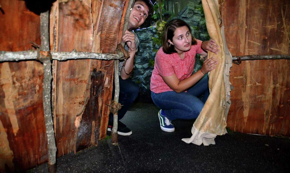 Washington's Institute of American Indian Studies offers its Wigwam Escape program to visitors.