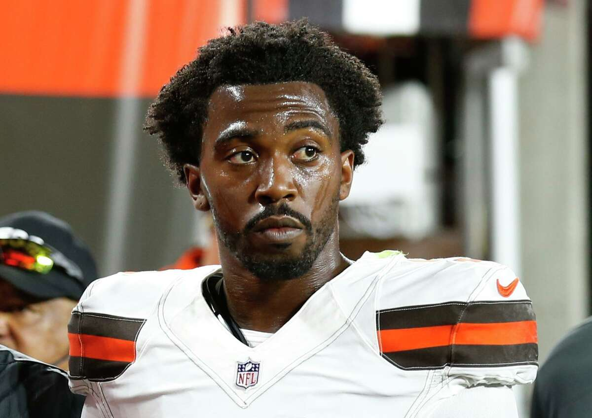 After time with Baltimore, Buffalo, Cleveland and the Los Angeles Chargers, quarterback Tyrod Taylor will make Houston his fifth NFL address.