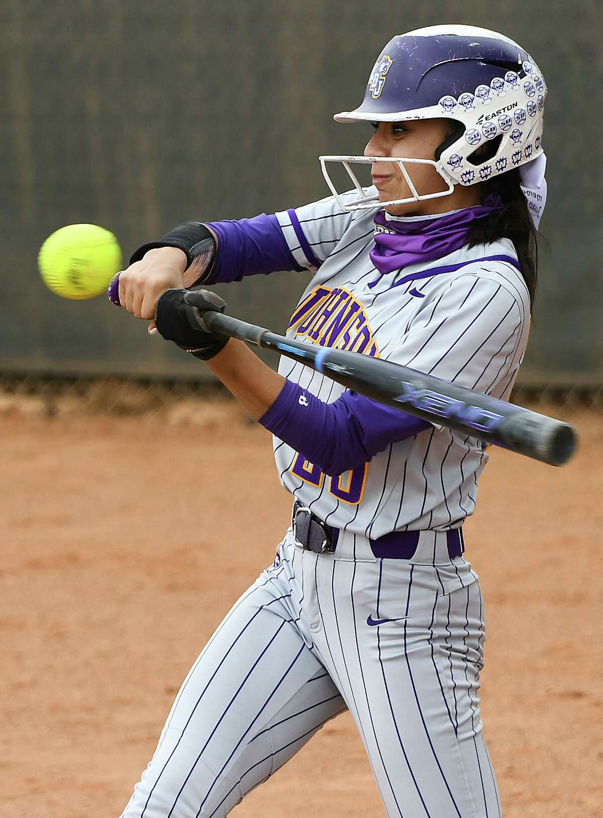 Valerie Loyola hit a walk-off single Tuesday as LBJ won 7-6 over United at the SAC.
