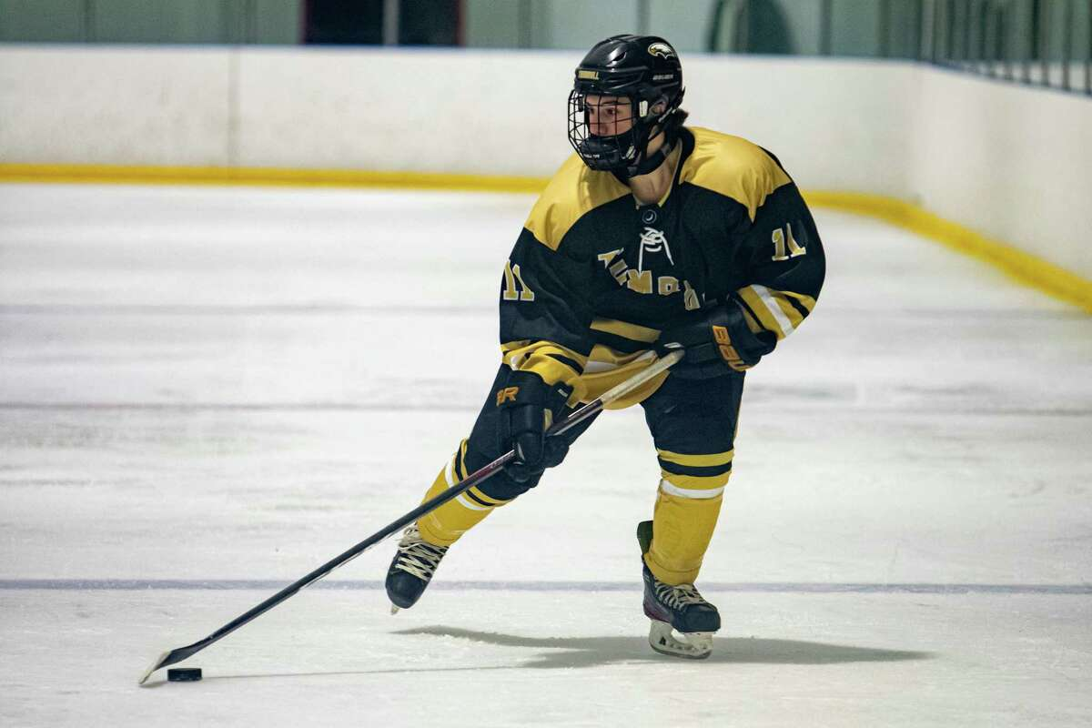 Cody Hickey is one of nine seniors that helped Trumbull get off to 9-1 start to season.