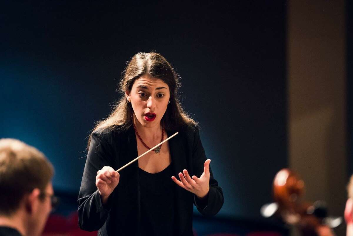 Anna-Maria Gkouni, the Conroe Symphony Orchestra's new Conductor and Music Director, will lead her first concert with the group on July 3.
