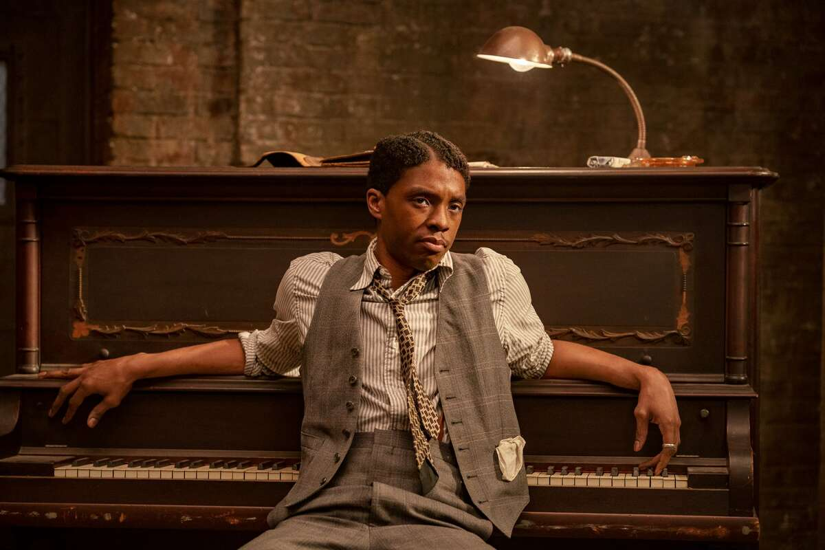 """A best actor Oscar win for Chadwick Boseman in """"Ma Rainey's Black Bottom""""would be no mere sympathy vote. Yes, he's THAT good."""