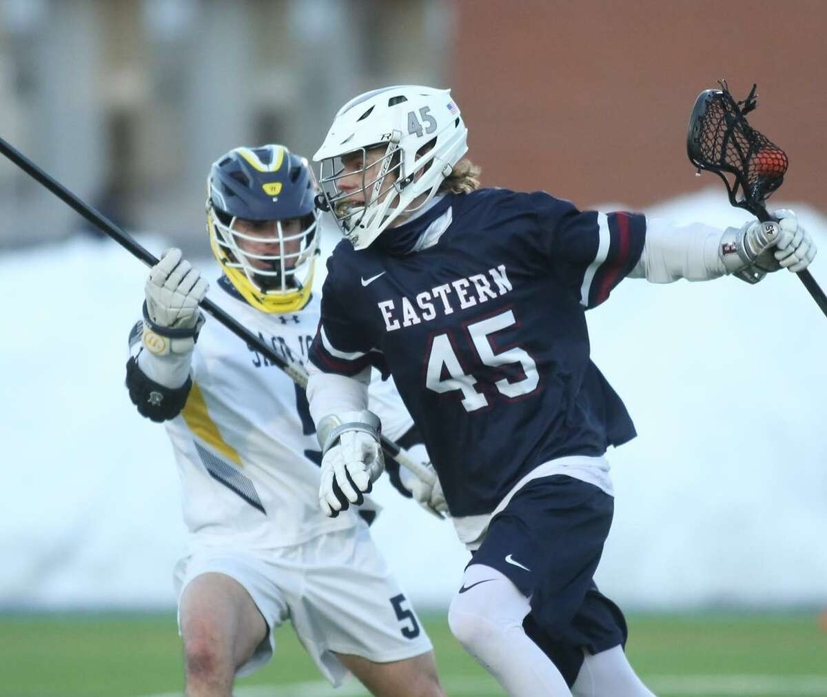 Jake Leibowitz is a returning starter for coach Marc Graham at Eastern Connecticut State University.