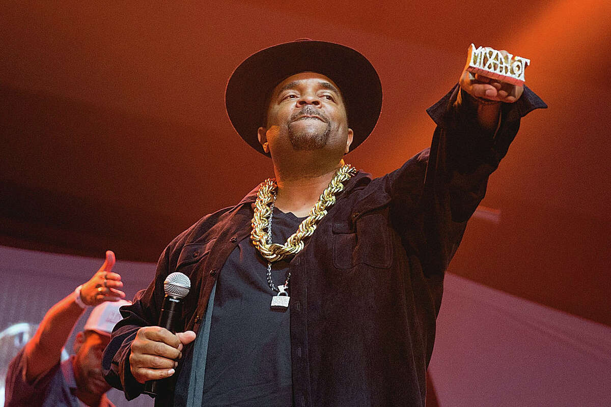 Rapper Sir Mix-a-Lot performs onstage as part of '(Baby Got) Back to the 90's ' at the HEB Center on July 22, 2016 in Cedar Park, Texas. (Photo by Rick Kern/WireImage)