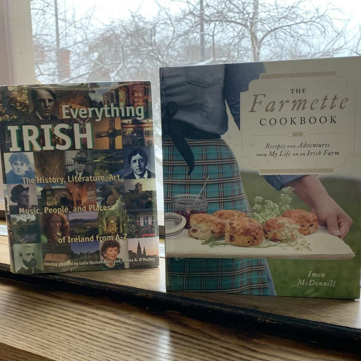 """""""The Farmette cookbook: Recipes and adventures from my life on an Irish farm"""" by Imen McDonnell takes the reader on a journey to the countryside. Join the author as she shares traditional kitchen skills and wisdom or forages for wild edibles."""