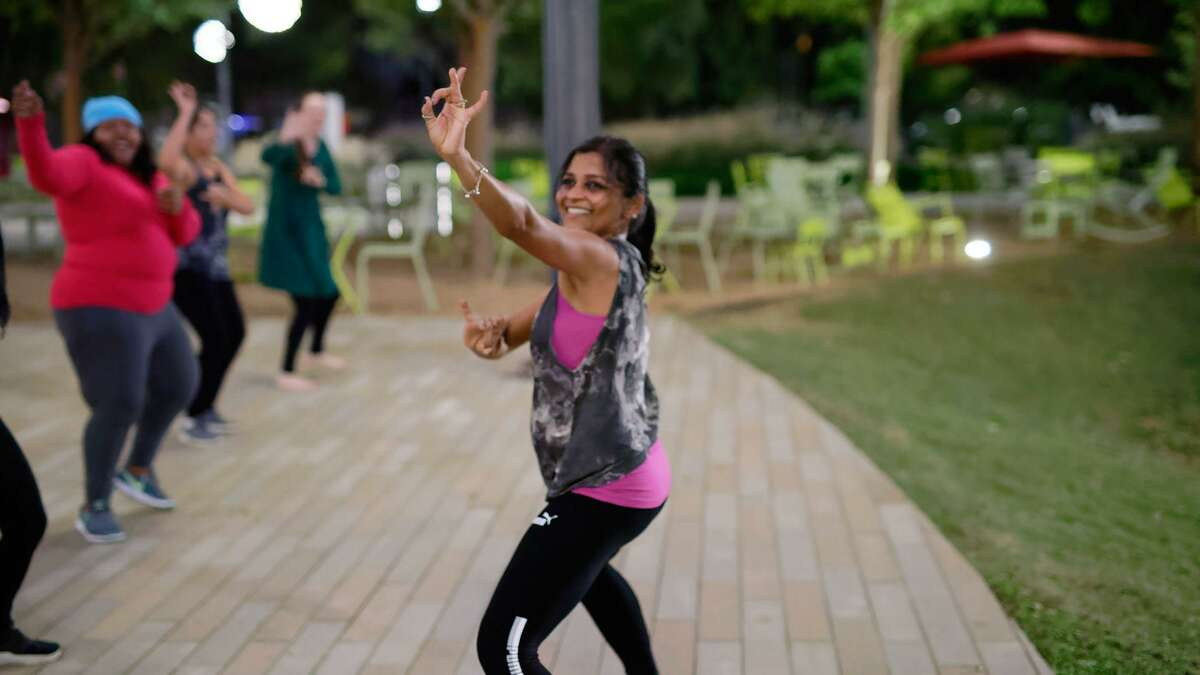 Bollywood & Bhangra Dancing Class, one of the most popular spring break events at Levy Park, .