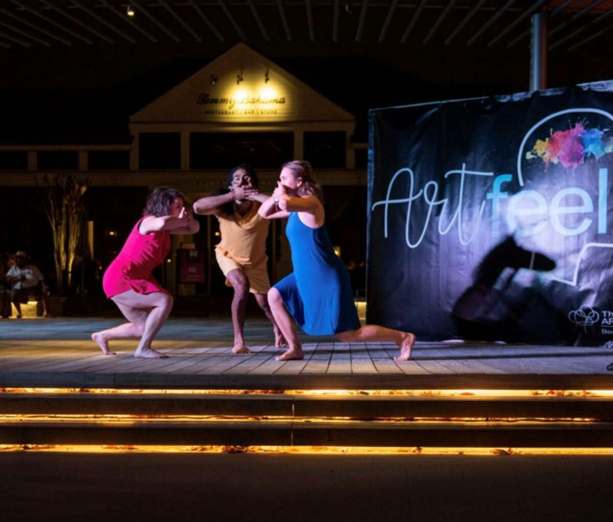 Artfeel, the performance art night of whimsy, returns to live action on June 30 at Market Street in The Woodlands. About 100 people attended the March 10 event which featured 10 performers doing dance, spoken word and music.