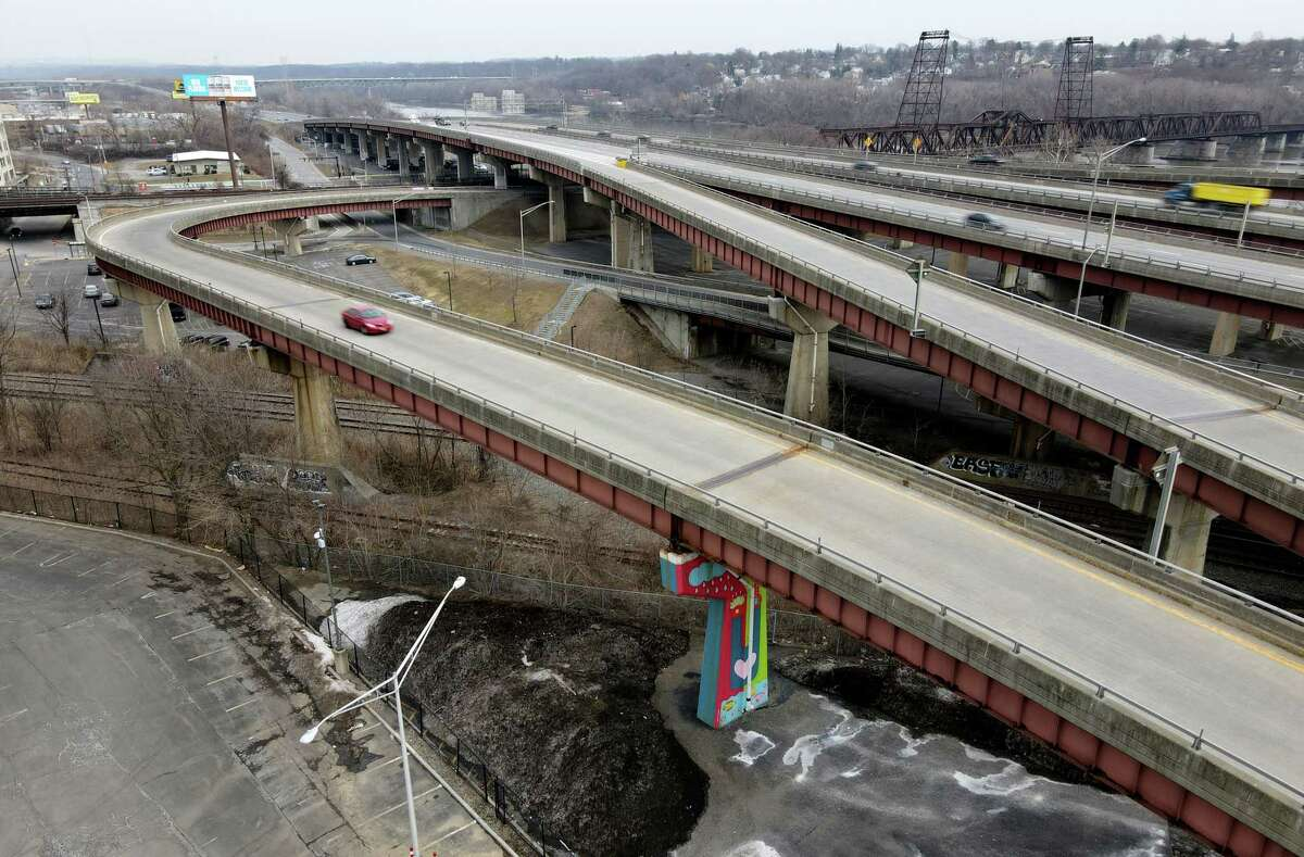 FILE. Letter writer says, 'Urban revitalization in any form is favorable, but the Albany Skyway seems misguided or, at best, a small bandage on a larger problem created by the moat that is Interstate 787 between Albany and the Hudson River.' (Will Waldron/Times Union)