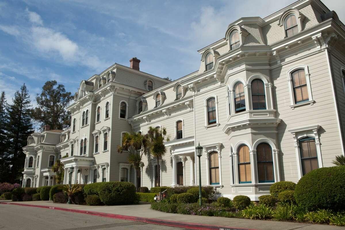 File photo of Mills College in Oakland. (Photo by John S Lander/LightRocket via Getty Images)