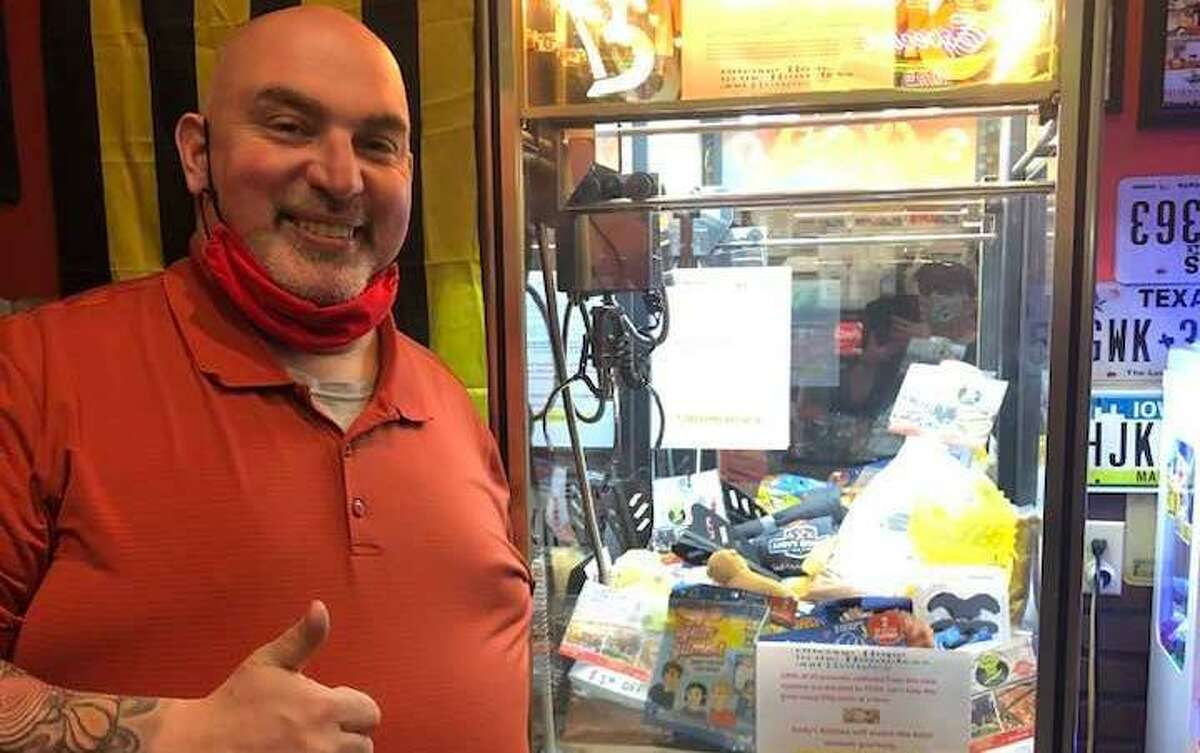 Andy's Kitchen has installed a new crane game, with all proceeds donated to Cy-Fair Helping Hands. Owner Andy Correa said he always looks to help CFHH after meeting executive director of CFHH Patricia Hudson.