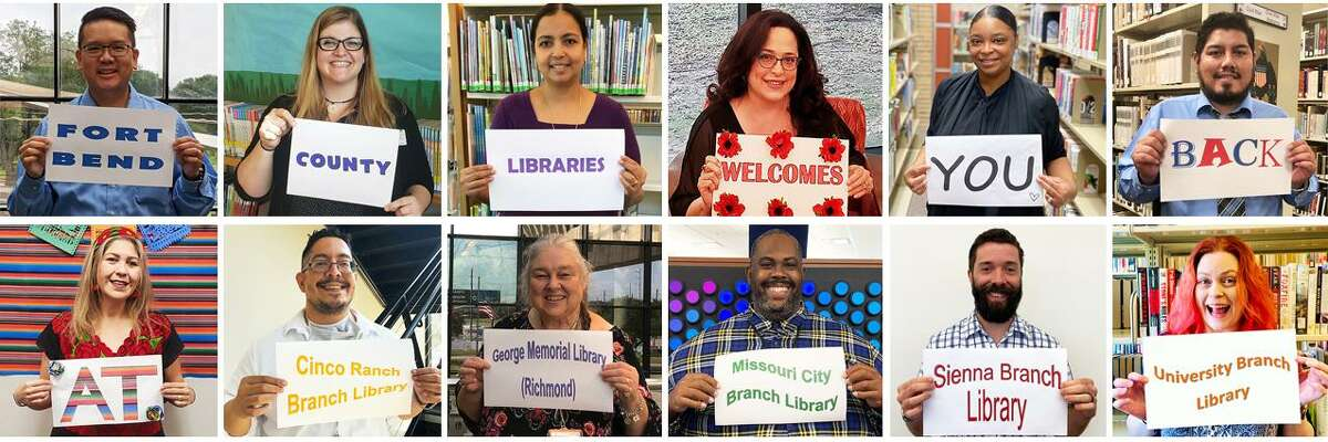 Fort Bend County Library branches have begun the process of returning to normal operations at five locations.