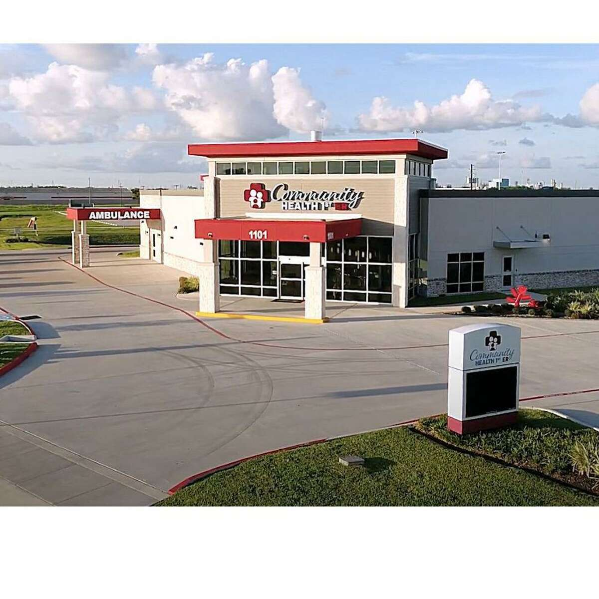 Community First ER, which has locations including this one in Deer Park, is scheduled to open a Pearland site in mid-April.